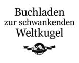 Logo Buchladen zur schwankenden Weltkugel